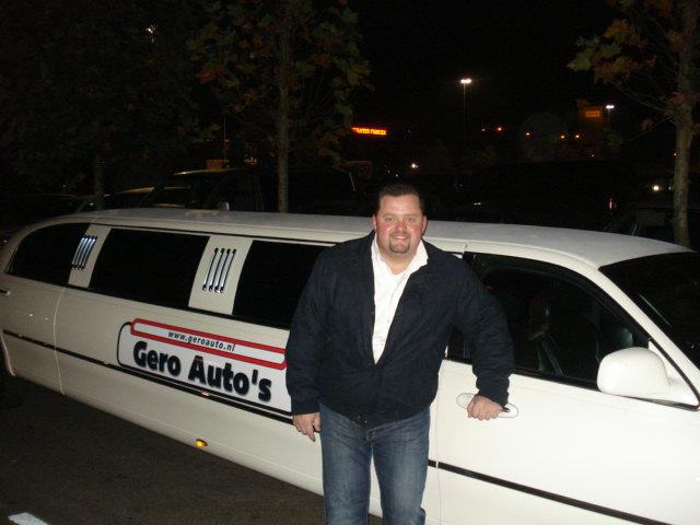 Ook Frans Duijts huurt een limousine bij limoparty.nl Utrecht