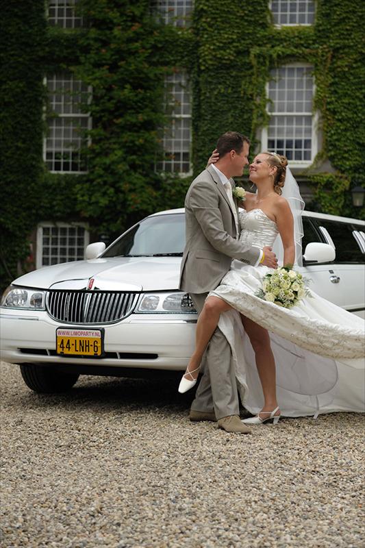 Bruiloft Limoparty.nl uw limousine verhuur voor Utrecht en omstreken