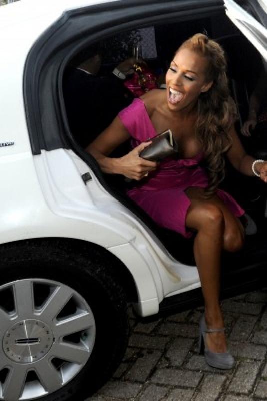 Ook Glennis Grace  huurt een limousine bij limoparty.nl Utrecht